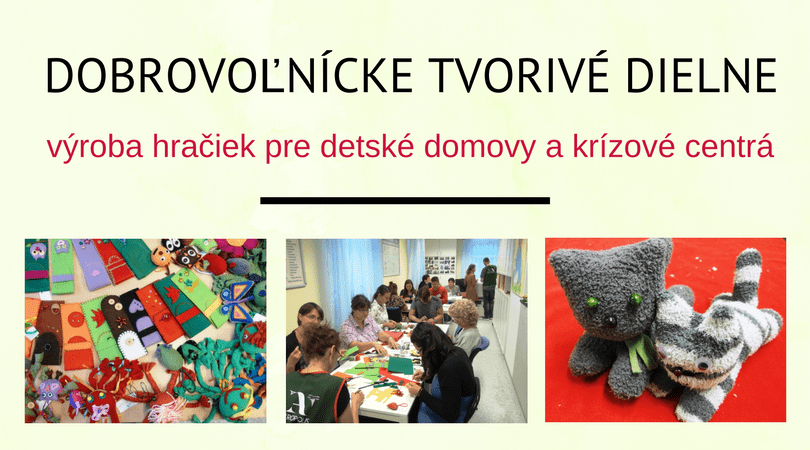 Dobrovoľnícke tvorivé dieľne – 14/12/2017