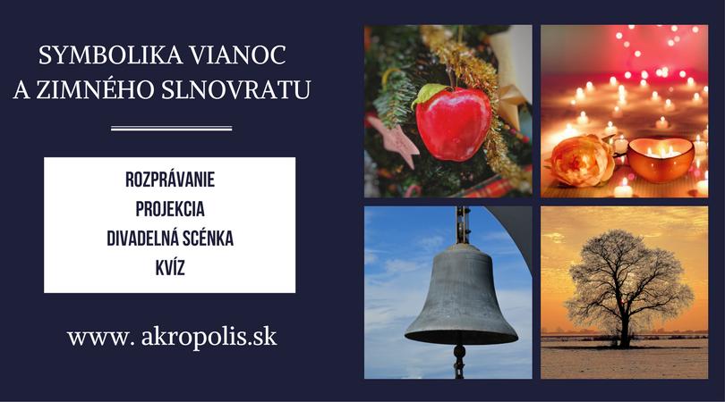 Symbolika Vianoc a zimného slnovratu – 14/12/2017